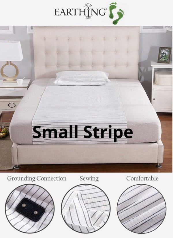 Grounding fitted sheet for earthing