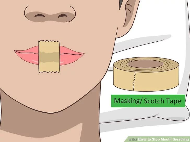 mouth taping