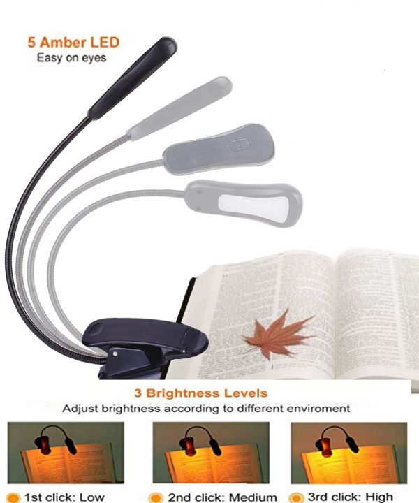 sleep amber book light for reading