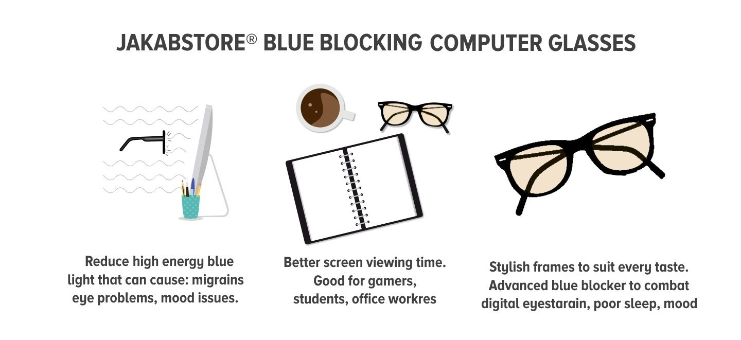 Blue BLocking Computer Glasses
